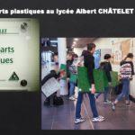 Présentation arts plastiques Lycée Châtelet Douai