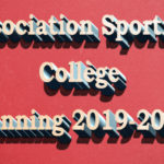 Planning de L'Association Sportive Collège 2019-2020