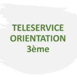 TELESERVICE ORIENTATION:Phase provisoire orientation 3ème