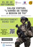 """Salon Virtuel """"L'ARMÉE DE TERRE A BESOIN DE TOI"""""""