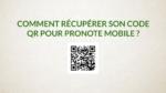 Récupérer son code QR pour pronote mobile